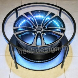 Table Salon Wheel-Design