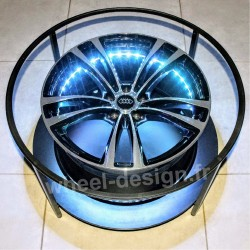 Table salon Wheel Design