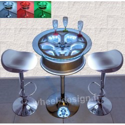 Wheel Design Table de bar