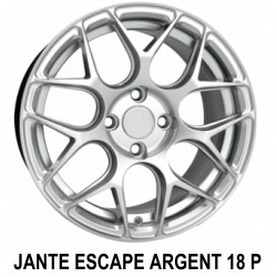 Jante Escape Argent 18 pouces
