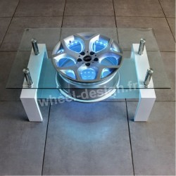 WHEEL DESIGN table de salon 18""