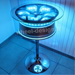 table de bar 18 pouces Wheel Design
